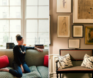 Kate Spade in her Manhattan home - New York fashion designer.PNG